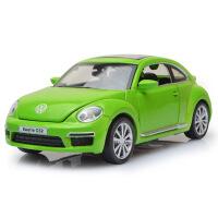 嘉业1:32大众甲壳虫合金汽车模型 带声光回力儿童玩具模型