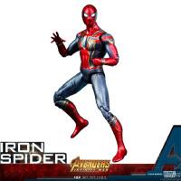 复仇者联盟3无限战争 钢铁蜘蛛侠可动手办公仔玩具模型礼物
