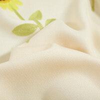 韩式田园清新亚麻布窗帘成品简约现代客厅书房卧室落地窗全遮光纱 YJ635 窗帘布 需要几/拍几/(加工费另计)