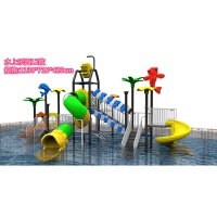 大型户外小博士滑梯塑料滑梯游泳池水上滑梯小区游乐场幼儿园滑梯 抖音