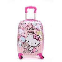 儿童拉杆箱20寸万向轮可爱卡通女童旅行箱小学生中大童行李登机箱