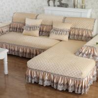 欧式沙发垫毛绒冬季防滑通用坐垫冬天客厅沙发套罩全盖全包巾贵妃