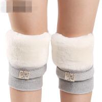 护膝保暖老寒腿冬季男女士羊毛加厚加绒老人羊绒防寒膝盖关节kk0
