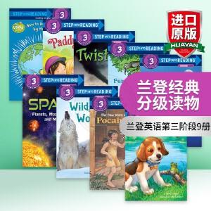 美国企鹅兰登经典分级读物兰登英语第三阶段10册 英文原版绘本 Step into Reading 3 英文版童书 进口原版英语书籍 正版