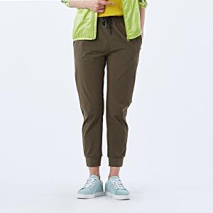 AIRTEX亚特户外春夏季女款休闲弹力小脚裤修身轻薄运动情侣束脚裤