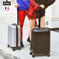 单杆拉杆箱女行李箱男万向轮密码箱可登机箱20寸硬皮箱子旅行箱包