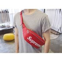 包包女新款韩版字母印花胸包休闲单肩包小运动包腰包斜跨包潮