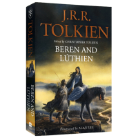 贝伦与露西恩 英文原版 Beren and Lúthien 英文版经典名著科幻小说 进口英语书籍正版现货可搭霍比特人指