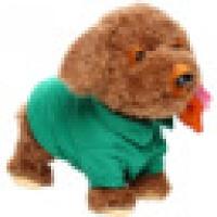 简单爱儿童电动玩具智能狗狗电动狗机器狗仿真泰迪狗声控唱歌走路可牵绳