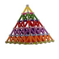 中天乐 磁力棒玩具儿童益智磁性片积木宝宝磁铁拼接装吸铁石散装男女孩子
