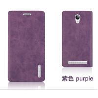 步步高vivo Y28L手机壳Y928 Y628手机保护皮套 外壳 翻盖式男女款 Y28L -紫色