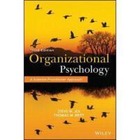 【预订】Organizational Psychology 9781118724071