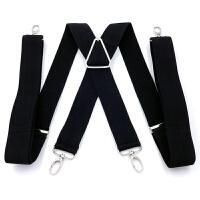 男女通用休闲背带裤背带松紧吊裤带弹力吊带夹子可调节长度h和x款xx