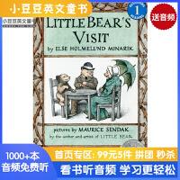 英文绘本原版进口Little Bear's Visit  小熊来访 [4-8岁]