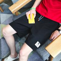 短裤男夏天裤子男士运动裤潮4宽松中裤头5分大裤衩夏季休闲五分裤K996