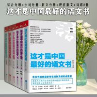 全6册小说分册+散文分册+综合分册+诗歌分册上下+现代散文分册叶开中学语文教辅学生用书正版畅销书籍这才是中国最好的语文