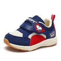 史努比童鞋男孩舒适健康机能鞋