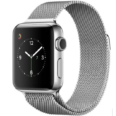 Apple Watch Series 2智能手表(38毫米不锈钢表壳 米兰尼斯表带 GPS 50米防水 蓝牙 MNP62CH/A)可使用礼品卡支付 国行正品 全国联保