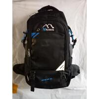 百佳威双肩包新款50L大容量防泼水背包中学生书包登山包