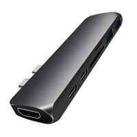 type-c扩展坞苹果电脑MacBookPro转换器HDMI笔记本usb-c拓展分集线hub转接头高 0m