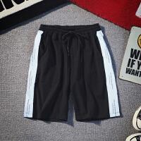 夏季日系反光个性休闲短裤男士大码韩版宽松五分裤潮流薄款沙滩裤