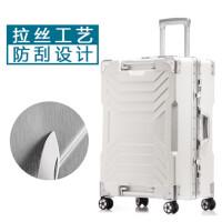 拉杆箱万向轮24寸铝合金框防刮皮箱行李箱旅行箱男女20行礼箱拖箱