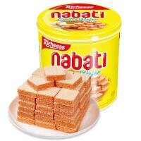 【促】印尼进口 丽芝士奶酪威化饼干 350g*2罐