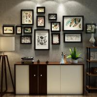 20180512180232568客厅简约现代组合创意装饰画餐厅墙面黑白挂画玄关书房挂墙墙画 175*81