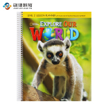Explore Our World Level 2教师用书 原版正品美国国家地理小学英语教材 含光盘