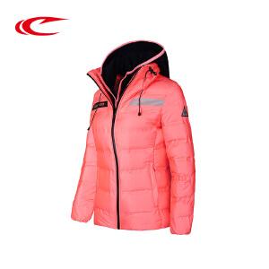 赛琪女装羽绒服可脱卸帽2017冬季新款加厚保暖休闲服时尚鸭绒外套