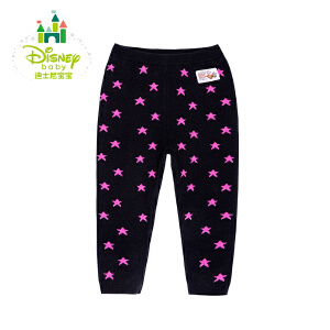 【卷后139元3件】迪士尼Disney 秋冬新品婴儿针织裤女宝宝加厚长裤154K684