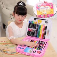 126件套儿童画笔套装礼盒美术绘画水彩笔画画生日儿童节礼物创意