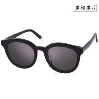 GM太阳镜V太阳眼镜潮韩国明星款网红大框太阳镜女墨镜男非偏光镜