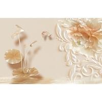 家和富贵花开富贵壁画墙纸如意吉祥创意卧室客厅现代装饰