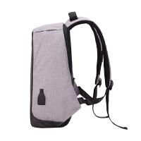电脑双肩包15.6寸14寸男女17寸笔记本背包休闲旅行包