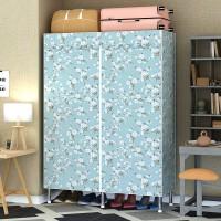 出租房组装卧室折叠衣柜简易布衣柜钢管结实耐用家用钢架衣橱柜子