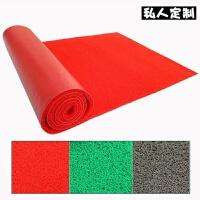 阳台家用进门门口地垫喷丝丝圈脚垫子PVC塑料可裁剪防滑走廊地毯