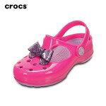 Crocs卡骆驰正品儿童鞋蝴蝶结小卡丽玛丽珍洞洞鞋女童沙滩鞋凉鞋花园鞋 15528