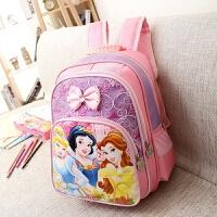 书包幼儿园男女孩4-5-6岁小学生-3年级白雪公主双肩背包女生