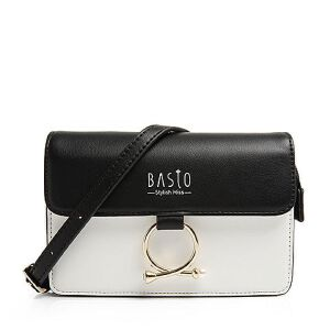 BASTO/百思图2018夏季专柜同款人造革珍珠金属装饰女单肩包ML127BX8