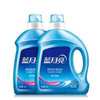蓝月亮洗衣液熏衣草香12斤组合套装:3kg亮白*2瓶