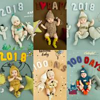 儿童影楼采购百天摄影服装 主题宝宝拍摄服装影楼正版展会服装主