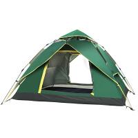 帐篷户外3-4人露营加厚家庭全自动二室一厅