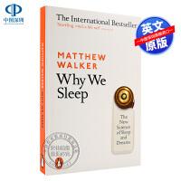 英文原版 我们为什么要睡觉?Why We Sleep 讲述睡眠的重要性 健康心理学科学 意识、睡眠与大脑的连结 Matt