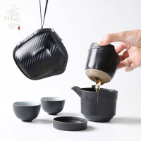 茶�剡^�V茶杯套�b旅行功夫茶具�易便�y包快客杯一�囟�杯�敉�
