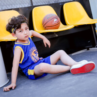 儿童篮球服套装夏男小学生训练幼儿园六一表演服公牛乔丹男童球衣