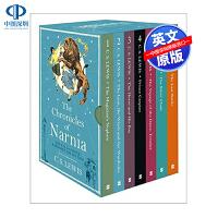英文原版 纳尼亚传奇7册合集 The Chronicles of Narnia box set 儿童青少年文学读物 中小