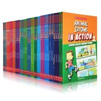 【大全套】学乐 Scholastic In Action  Words/Idioms/Phrases 42册 图解英语口语对话学习画里画外轻松学英语语法 英文原版漫画