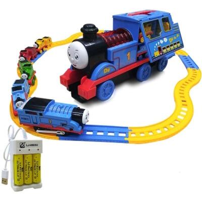 托马斯小火车套装轨道合金车头回力惯性汽车磁力男孩电动玩具 6868豪华套装充电版 送电动头 +轨道+充电套 发货周期:一般在付款后2-90天左右发货,具体发货时间请以与客服协商的时间为准