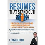 【预订】Resumes That Stand Out!: Tips for College Students and